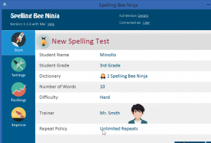 2017 09 28 20 08 09 Spelling Bee Ninja 300x204 - Spelling Bee Software - How to Win Spelling Bee