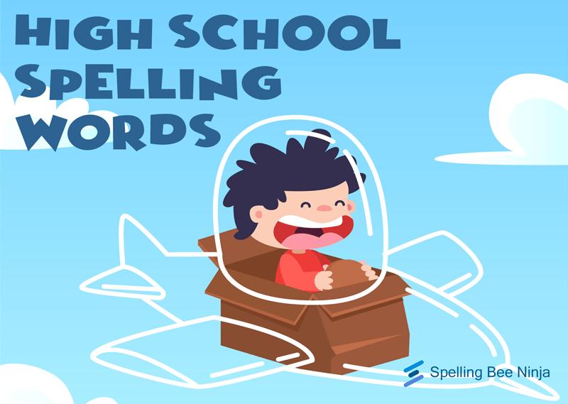 high school spelling words