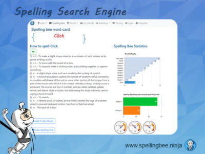 spelling bee search engine 400x301 - Spelling Bee Training Student One year