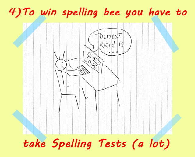 4 train for spelling bee - How to use Spelling Bee Ninja by pictures