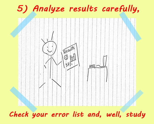 5 analyze spelling test results - How to use Spelling Bee Ninja by pictures