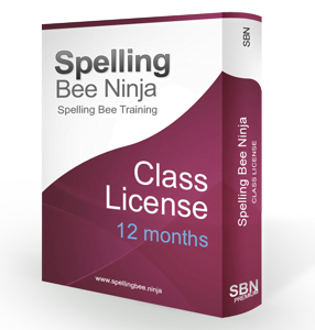 spelling bee class 12 months 286x300 - Spelling Bee Training Class One Year