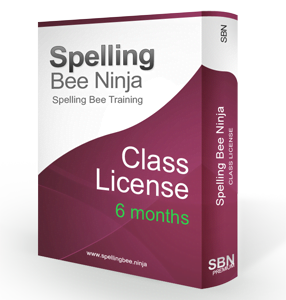 spelling bee class 6 months 286x300 - Spelling Bee Training Class 6 months