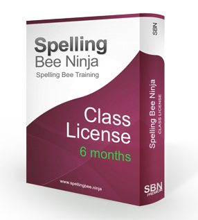 spelling bee class 6 months - Class account 6 months
