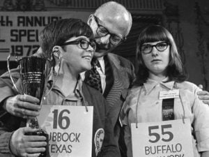 Spelling Bee from the past