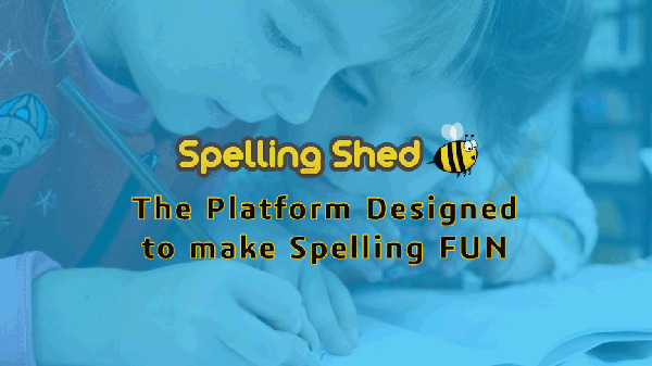 Spelling Shed students