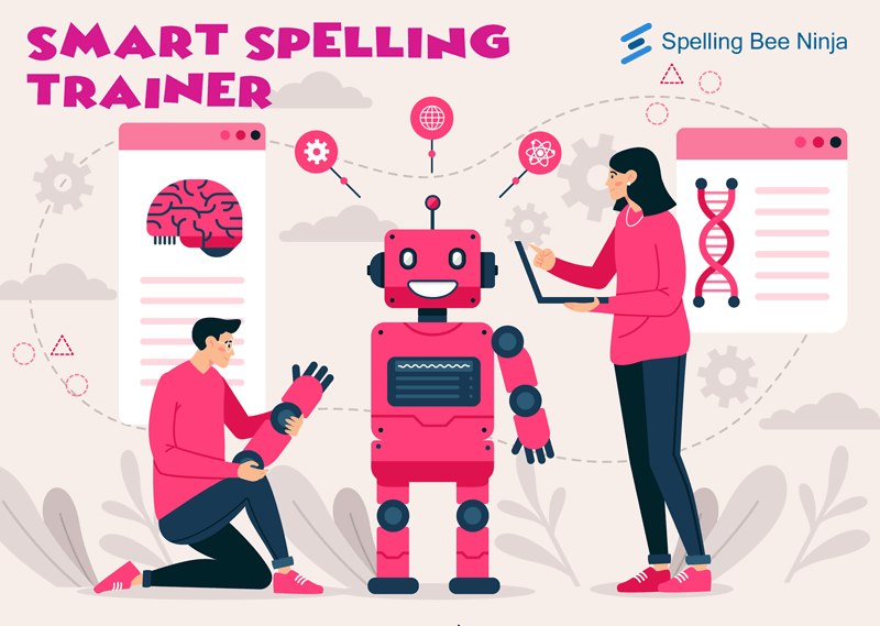 Spelling training