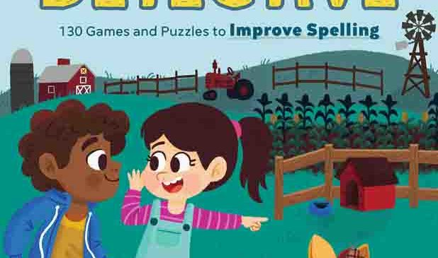 "Spelling Book ""Word Detective"" makes spelling lessons fun"