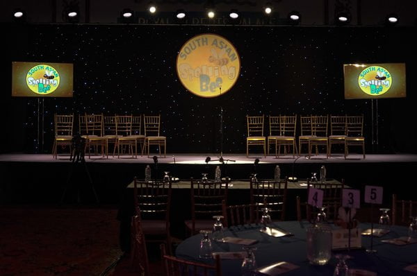 The South Asian Spelling Bee stage