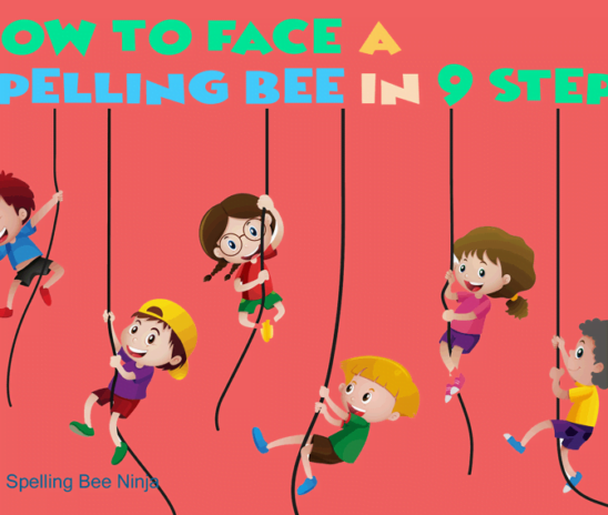 How to face a spelling bee in 9 steps
