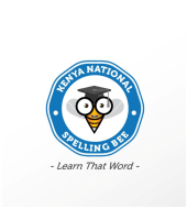 kenya spelling bee logo