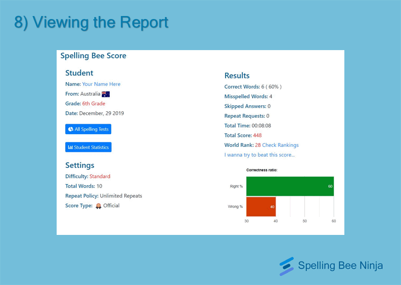 report page