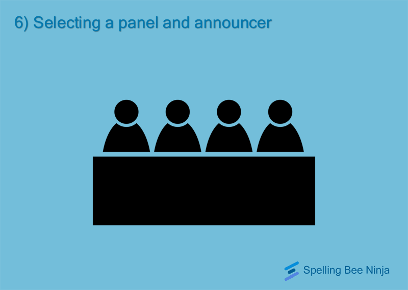 Selecting the panel and pronouncer