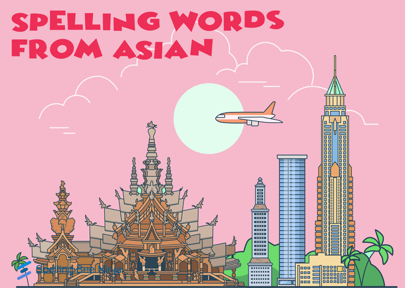 asian spelling words