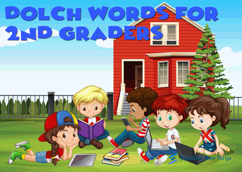 dolch words second grader