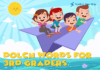 Dolch Words for 3rd Graders