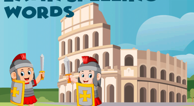 Featured Word List – Latin Spelling Words