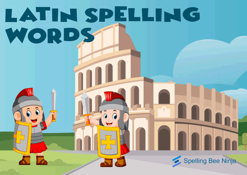 latin spelling words