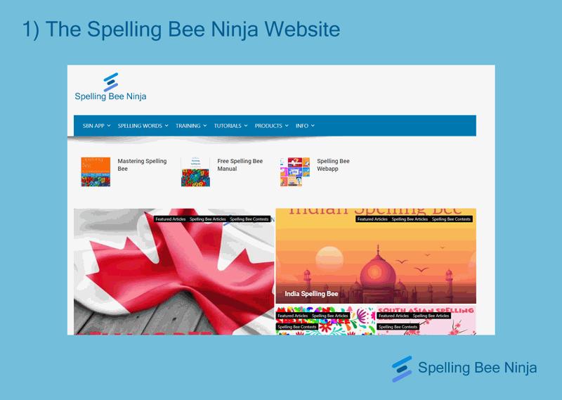spelling bee tools