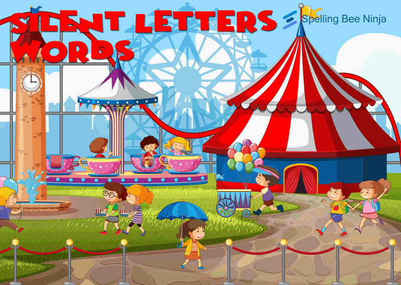 silent letters words