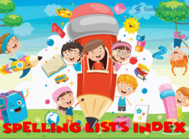 All the Spelling words lists with links
