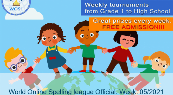 Augustus Pereira wins the WOSL Spelling Tournament Round: 05/2021