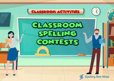 5 Steps: classroom spelling contest