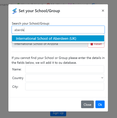 Search your school